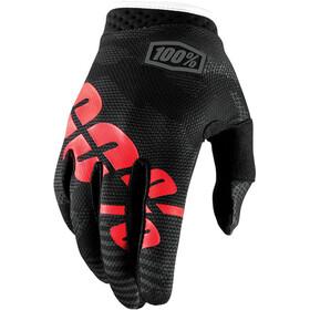 100% iTrack Handskar svart